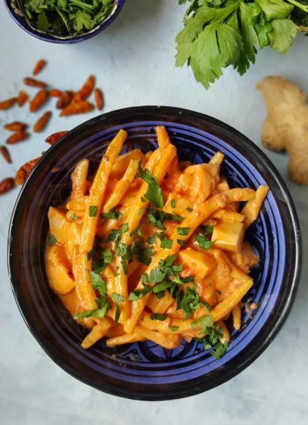 Curry z fasolki szparagowej