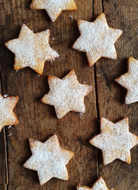 Migdałowe ciasteczka z pigwą i imbirem